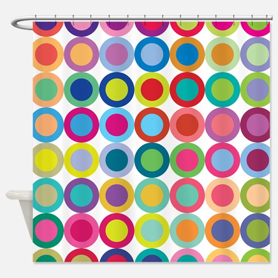 Bright Shower Curtains Cafepress