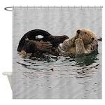 California Sea Otter Shower Curtain