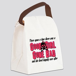Good Girl Gone Bad Canvas Lunch Bag