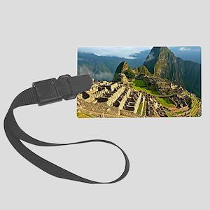 Machu Picchu Large Luggage Tag