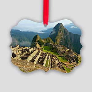 Machu Picchu Picture Ornament
