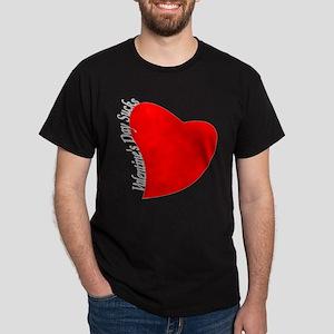 Valentine's Day Sucks! Dark T-Shirt
