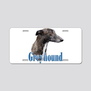 Greyhound Name Aluminum License Plate