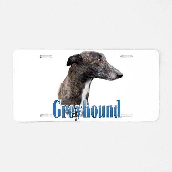 Greyhound Name Aluminum License Plate