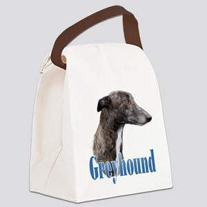 Greyhound Name Canvas Lunch Bag