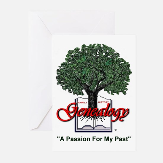 A Passion For My Past Greeting Cards (Pk of 10)