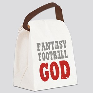 Fant Football GOD Canvas Lunch Bag