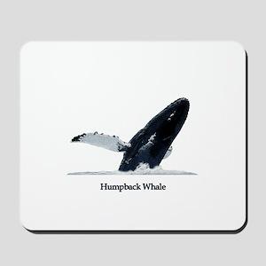 Humpback Whale (breaching) Mousepad
