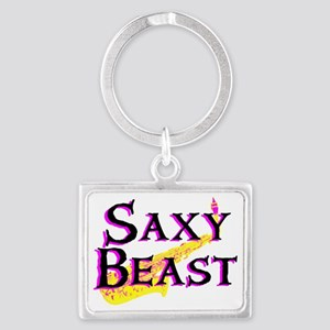 Saxy Beast  Landscape Keychain