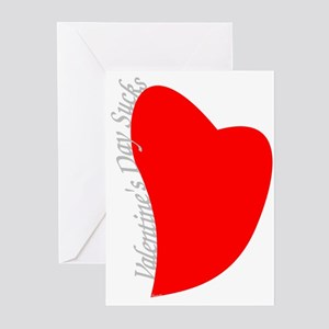Valentine's Day Sucks! Greeting Cards (Pk of 10)