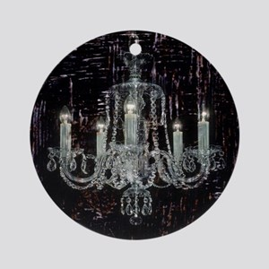abstract chandelier  Round Ornament
