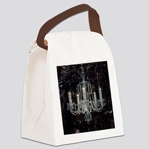 abstract chandelier  Canvas Lunch Bag