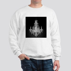 modern abstract chandelier Sweatshirt