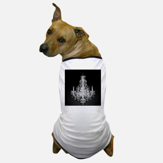 modern abstract chandelier Dog T-Shirt