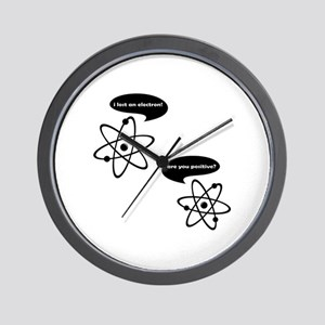 I Lost An Electron! Wall Clock