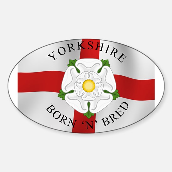 Yorkshire Born 'N' Bred Decal