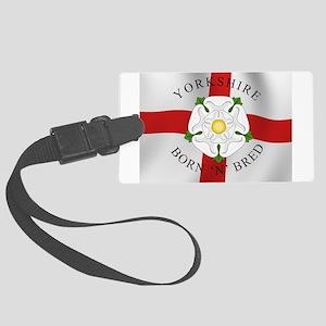 Yorkshire Born 'N' Bred Luggage Tag