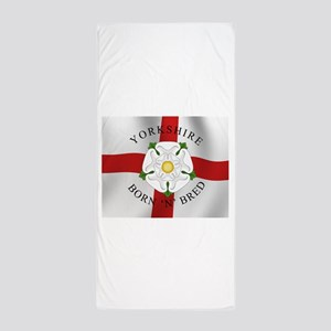 Yorkshire Born 'N' Bred Beach Towel