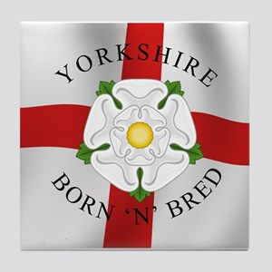 Yorkshire Born 'N' Bred Tile Coaster
