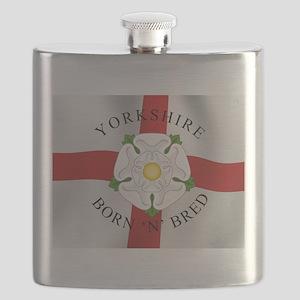 Yorkshire Born 'N' Bred Flask