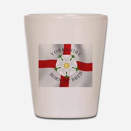 Yorkshire Born 'N' Bred Shot Glass