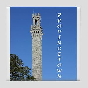 Pilgrim Monument Tile Coaster