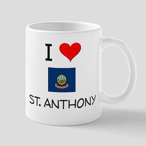 I Love ST. ANTHONY Idaho Mugs