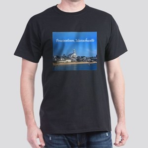 Provincetown Harbor Dark T-Shirt
