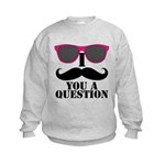 Black Mustache and Sunglasses Jumpers