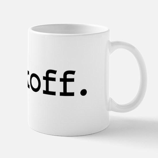 jackoff. Mug