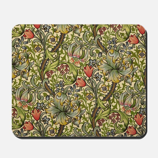 Morris Golden Lily Mousepad