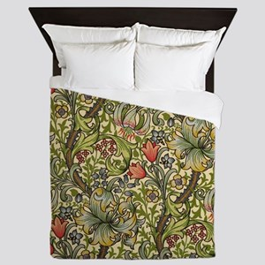 Morris Golden Lily Queen Duvet