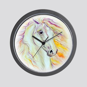 colors of the wind II Wall Clock