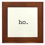 ho. Framed Tile