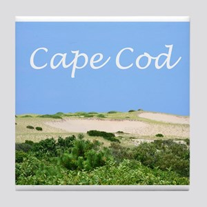 Cape Cod Dunes Tile Coaster