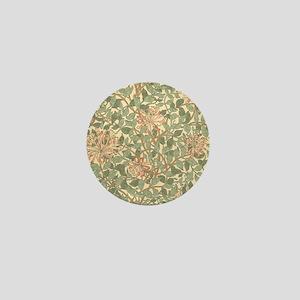 William Morris Honeysuckle Mini Button