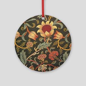 William Morris Evenlode  Round Ornament