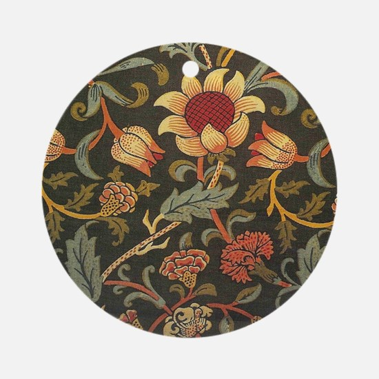 William Morris Evenlode  Round Ornament