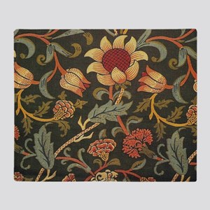 William Morris Evenlode  Throw Blanket