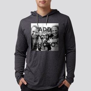 Add Your Photo Mens Hooded Shirt