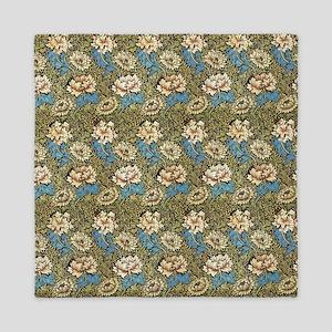 William Morris Chrysanthemums Queen Duvet