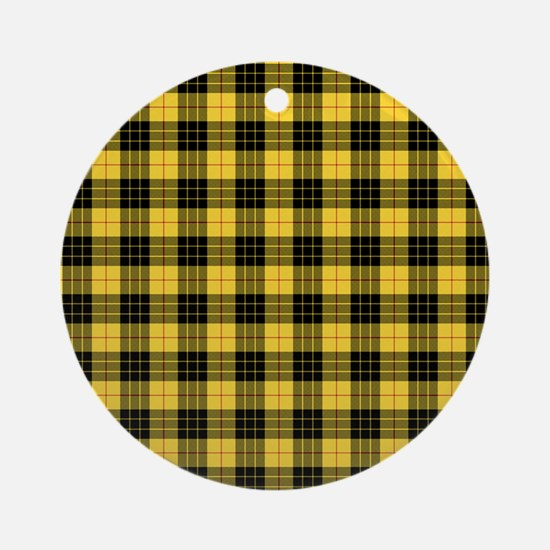 Tartan - MacLeod of Lewis Ornament (Round)