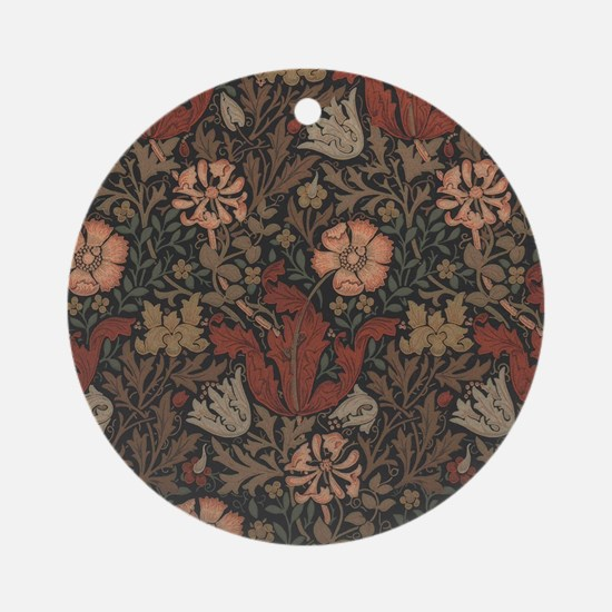 William Morris Compton Round Ornament