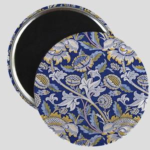 William Morris Floral Design Magnet