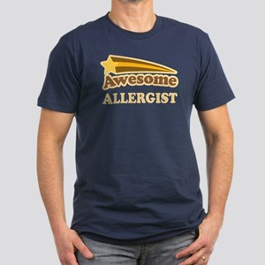 Awesome Allergist Men's Fitted T-Shirt (dark)