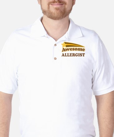 Awesome Allergist Golf Shirt