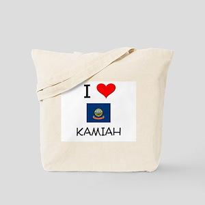 I Love KAMIAH Idaho Tote Bag