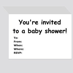 Baby not just for Valentine's Greeting Cards (Pack