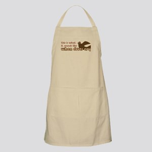 When Doves Cry BBQ Apron