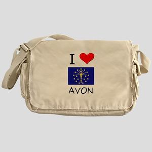I Love AVON Indiana Messenger Bag